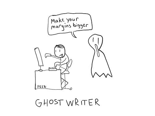 Ghost writer research paper
